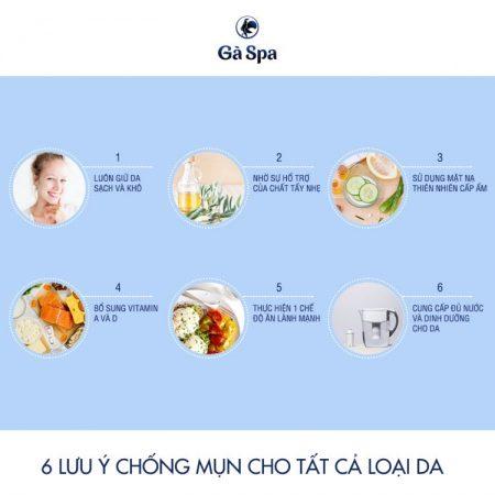 6 lưu ý giúp chống mụn hiệu quả cho tất cả loại da