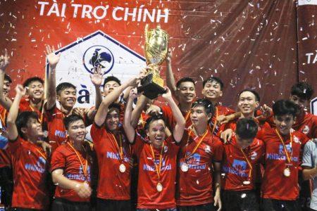Chung kết giải bóng đá FI U LEAGE Gà Spa Cup