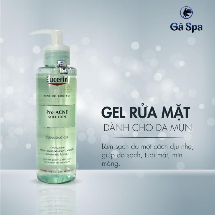 Gel Rửa Mặt Eucerin Pro-Acne