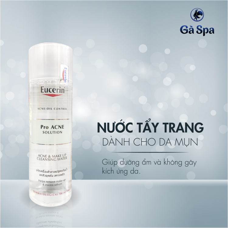 Nước Tẩy Trang Eucerin Acne & Make Up cleansing water