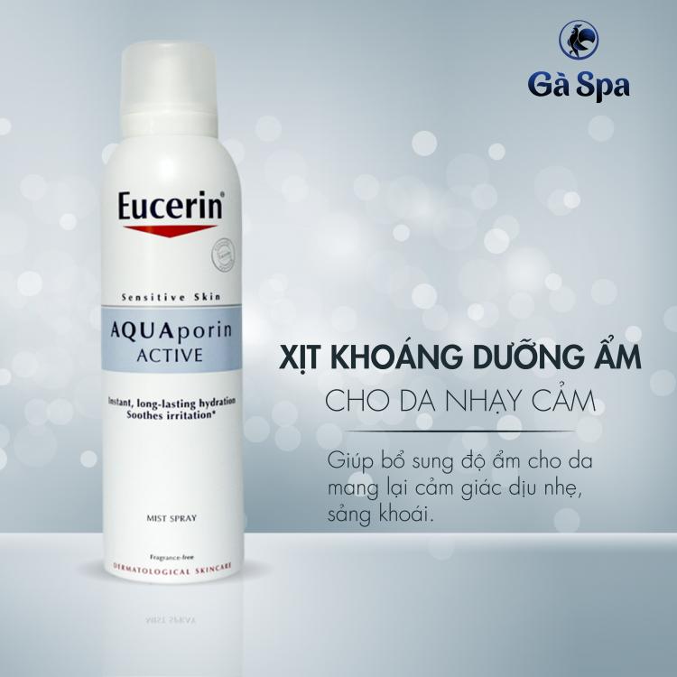 Xịt Khoáng Eucerin Dưỡng Ẩm Cho Da - Aquaporin Active