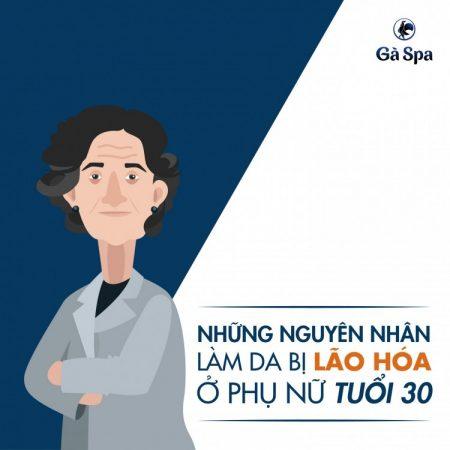 4 nguyên nhân làm da bị lão hóa ở phụ nữ tuổi 30