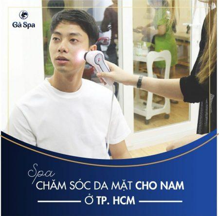 Spa chăm sóc da mặt dành cho nam tại TPHCM